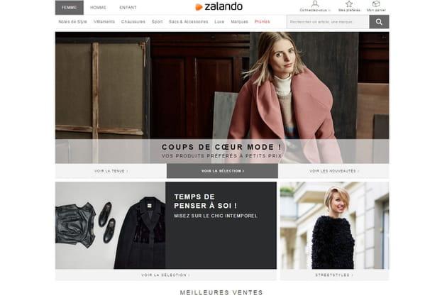 Le e-shop de Zalando