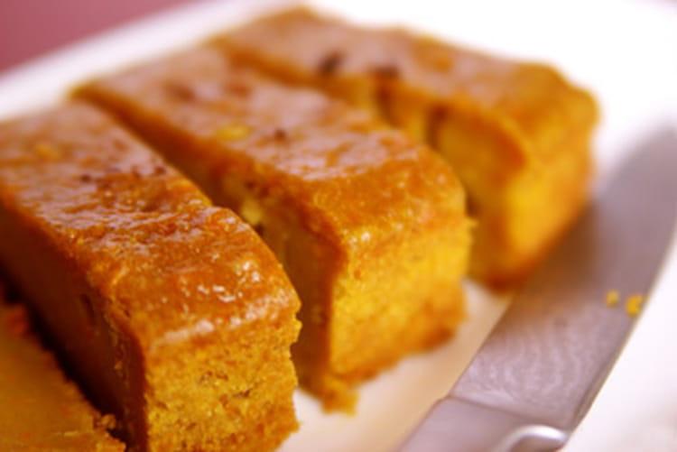 Recette de cake de patates douces aux notes exotiques la - Cuisiner de la patate douce ...