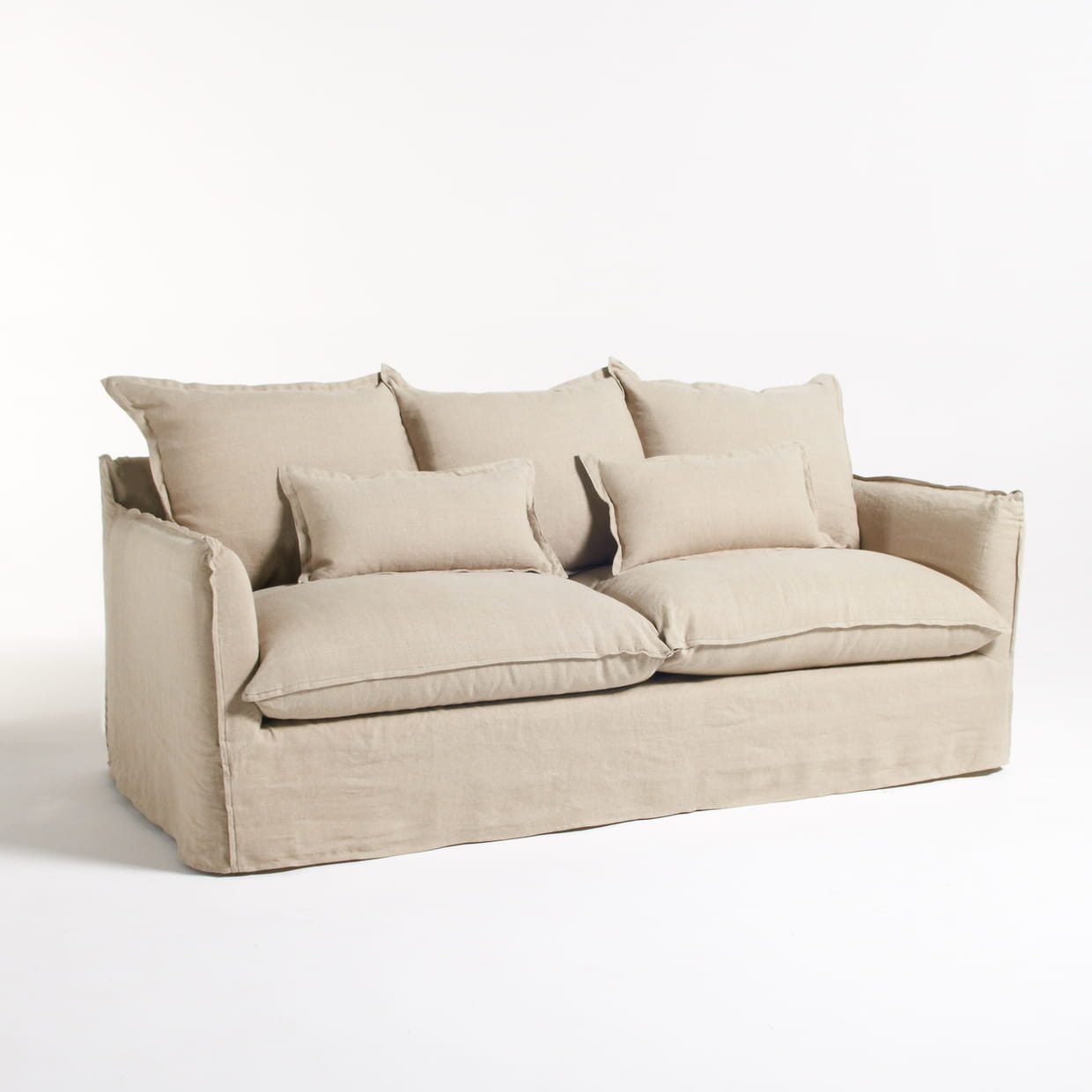 Canap beige for Cubre canape zara home