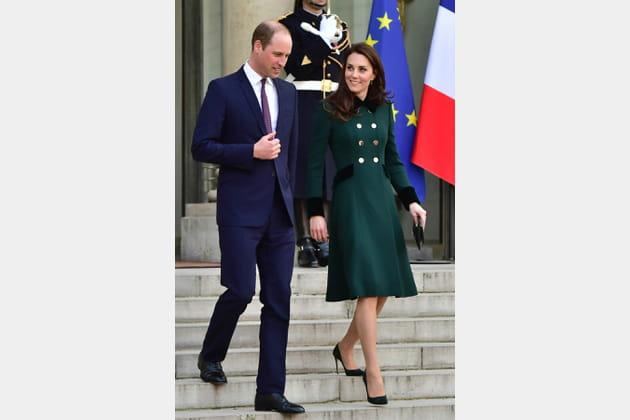 Kate Middleton le 17mars 2017