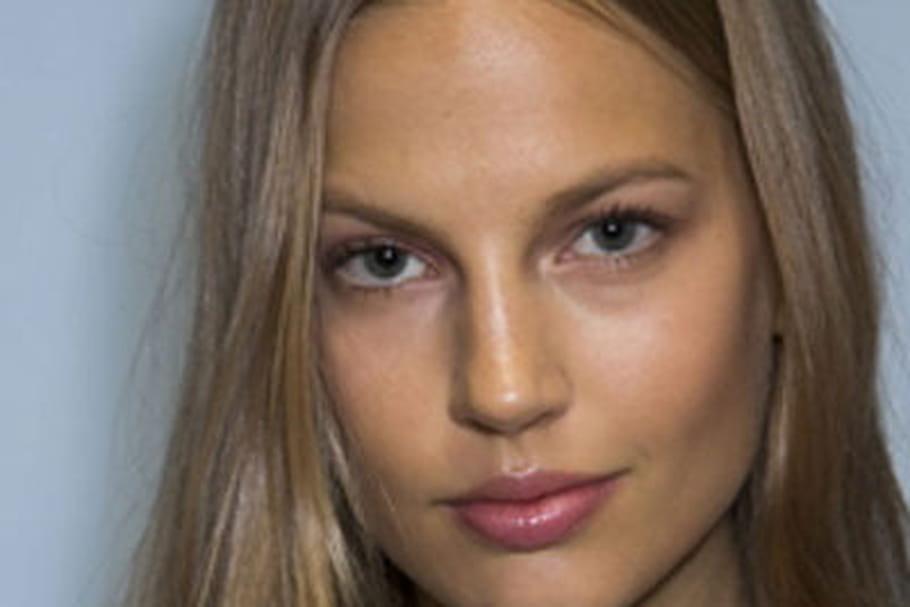 Fashion week prêt-à-porter New York : le maquillage radieux de Tommy Hilfiger