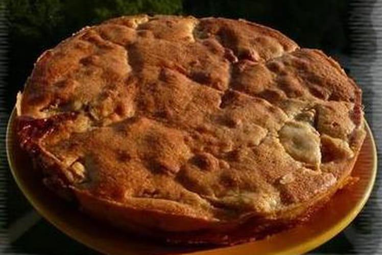 Gâteau aux pommes d'antan