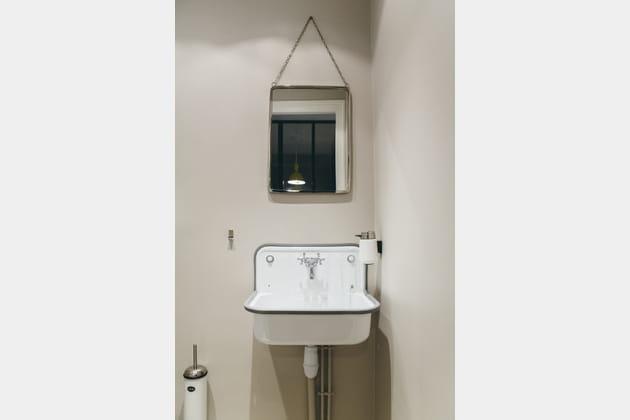 Après: un coin WC vintage
