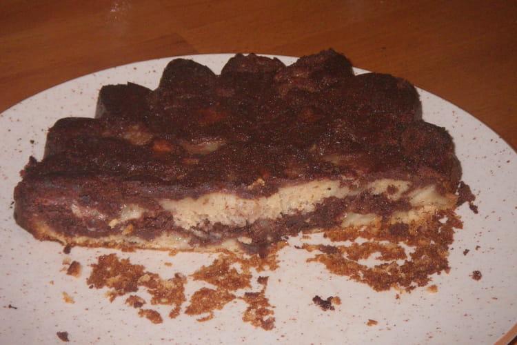 Gâteau aux poires et chocolat