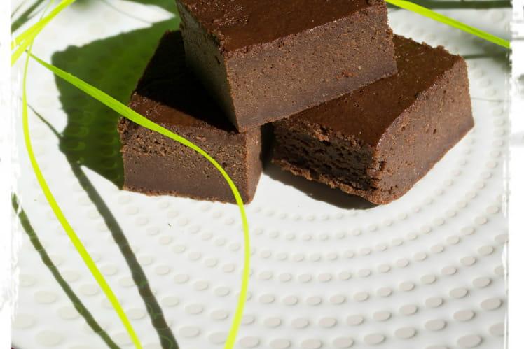 Fondant au chocolat et compote (sans beurre)
