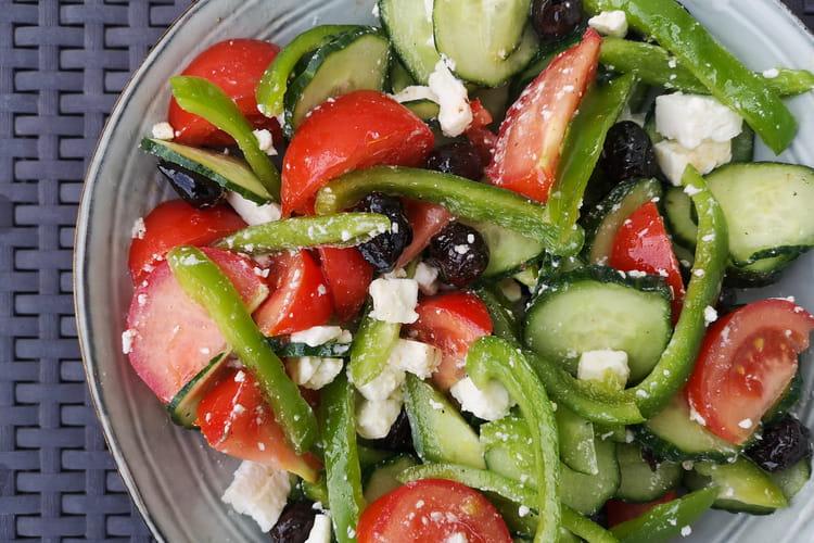 Salade grecque authentique