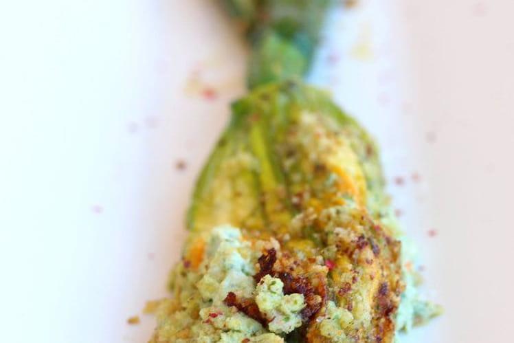 Fleur de courgette farcie toute simple