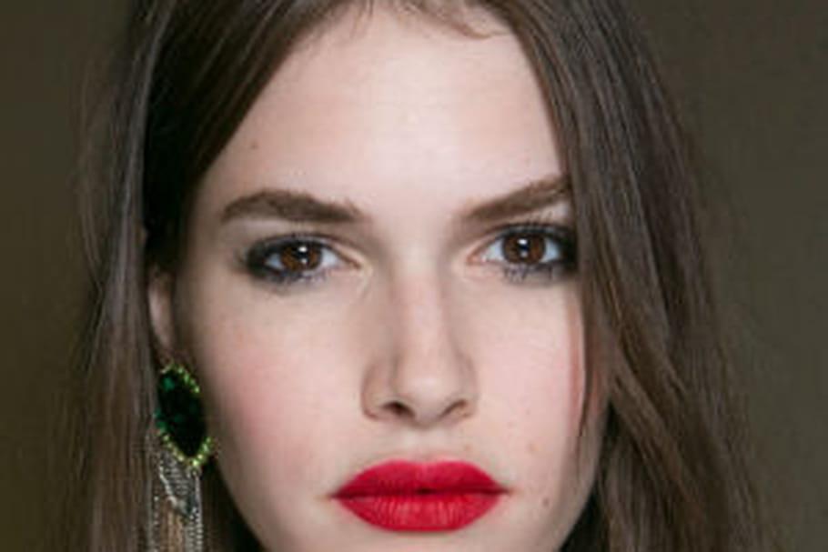 ac9603f8be Topshop Unique : les lèvres mates du défilé printemps-été 2016