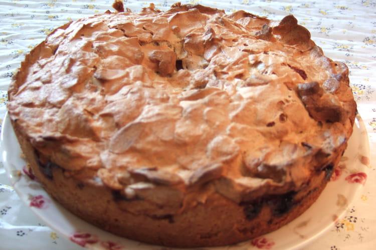 Gâteau meringué à la confiture