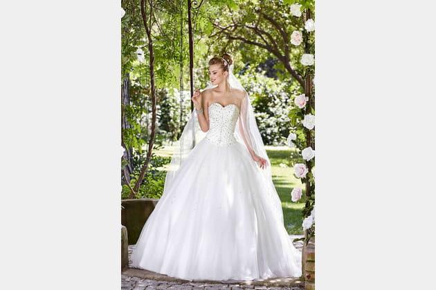 Robe de mariée Montségur de Point Mariage