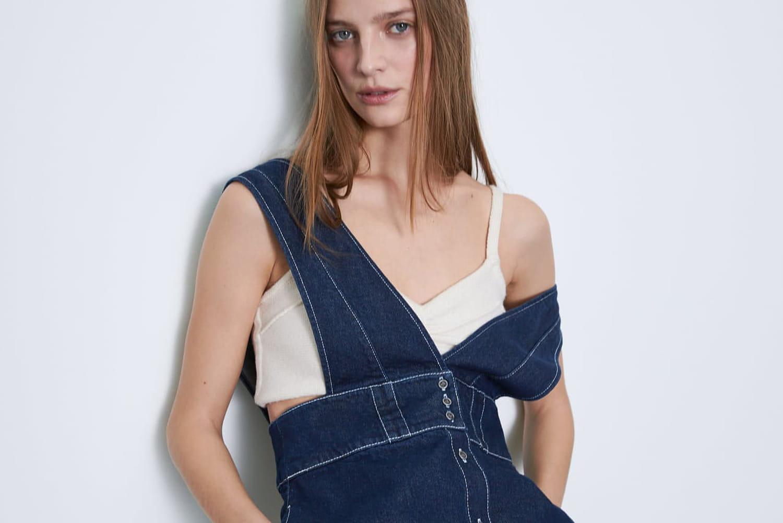Comment porter la robe en jean?