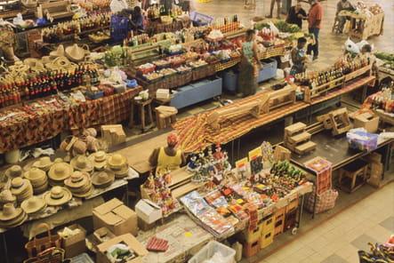 Balade au marché couvert de Fort-de-France