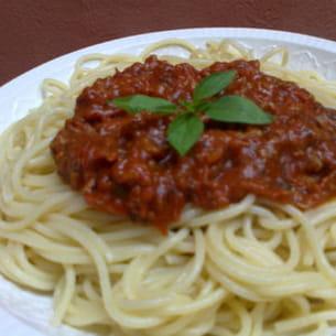 n°19 : spaghetti à la bolognaise