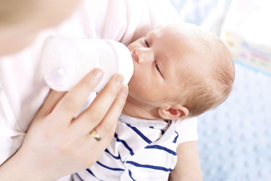 Quelle quantité de lait pour un bébé de 0à 4mois?