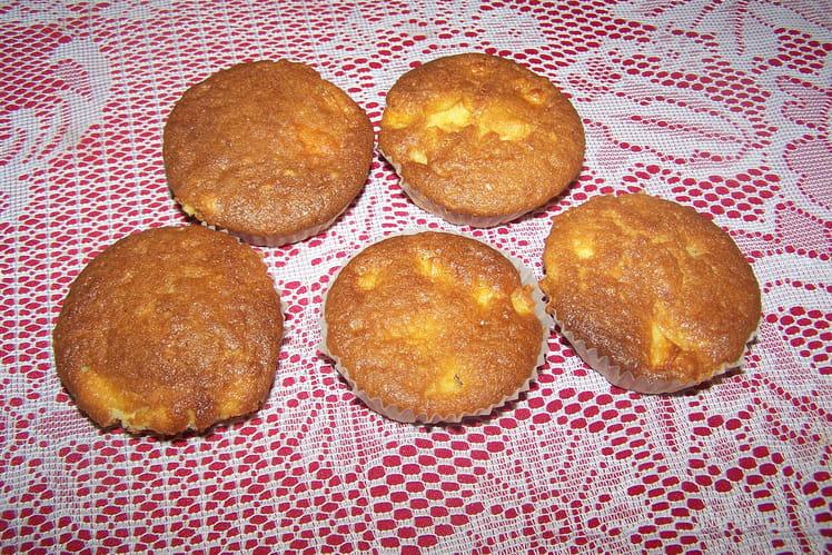 Muffin fondant aux pommes