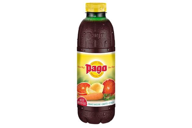 Le nouveau jus ACE rouge de Pago