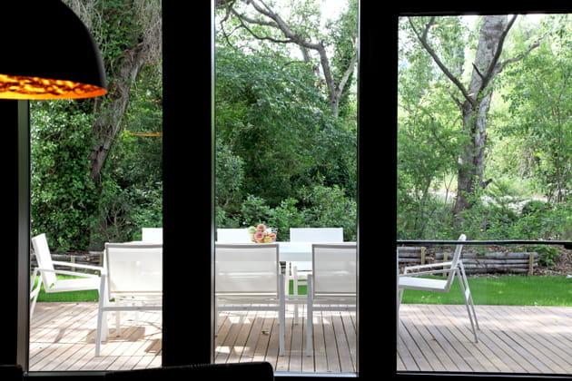 Une terrasse bucolique