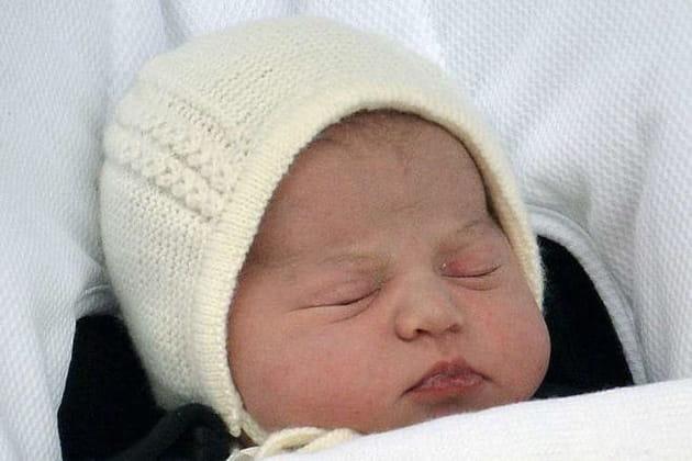 Première photo de la princesse de Cambridge