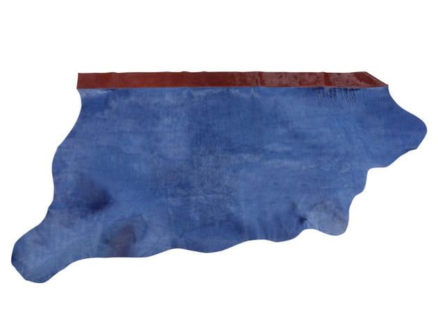 Tapis en cuir bleu de Zara Home