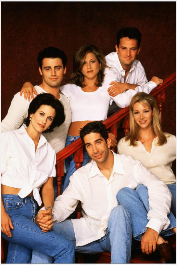 Les années 90-2000 : L'équipe de Friends