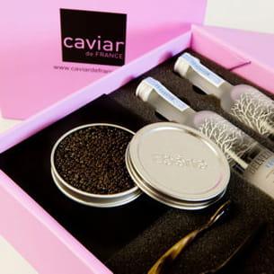 coffret caviar ebene de caviar de france