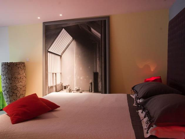 Chambre design pour esthète