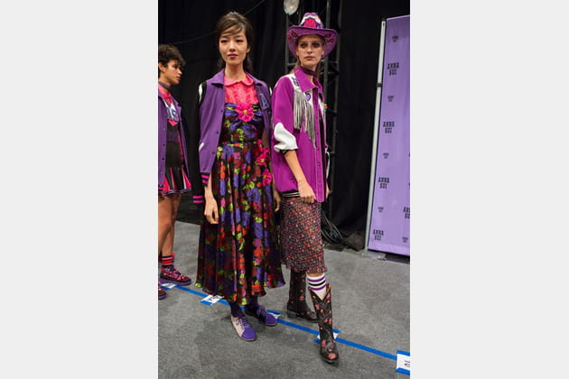 Anna Sui (Backstage) - photo 27