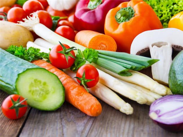 Les légumes frais sont plus riches en vitamines que les légumes surgelés
