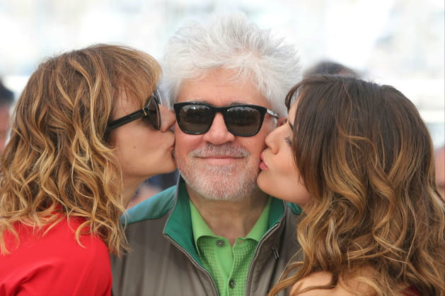 PedroAlmodóvar, aux anges avec ses actrices