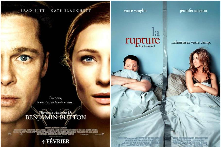 Ce qu'il faut voir ce soir à la télé: Brad Pitt est Benjamin Button sur France 3et Jennifer Aniston s'embrase sur Chérie 25