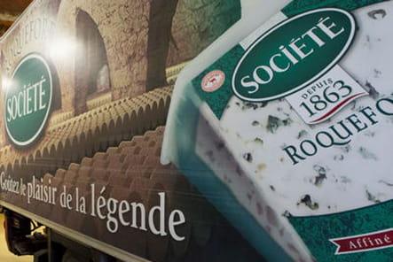 La naissance du Roquefort