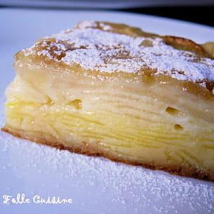 gâteau aux pommes-poires