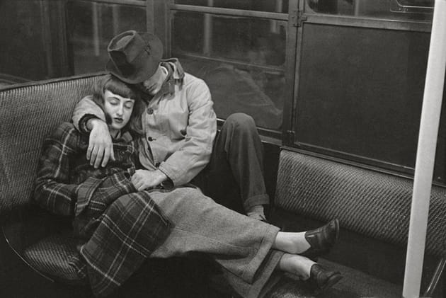 "Stanley Kubrick, from ""Life and Love on the New York City Subway,"" 1947"