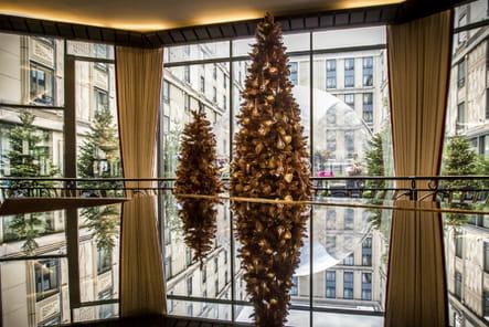 Le sapin de Noël de l'Hôtel du Collectionneur
