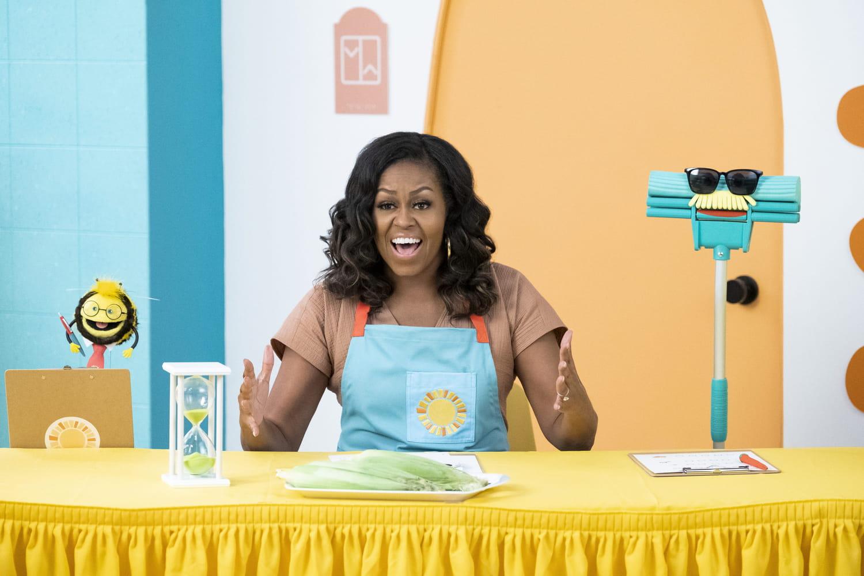 Gaufrette et Mochi: Michelle Obama en cuisine sur Netflix