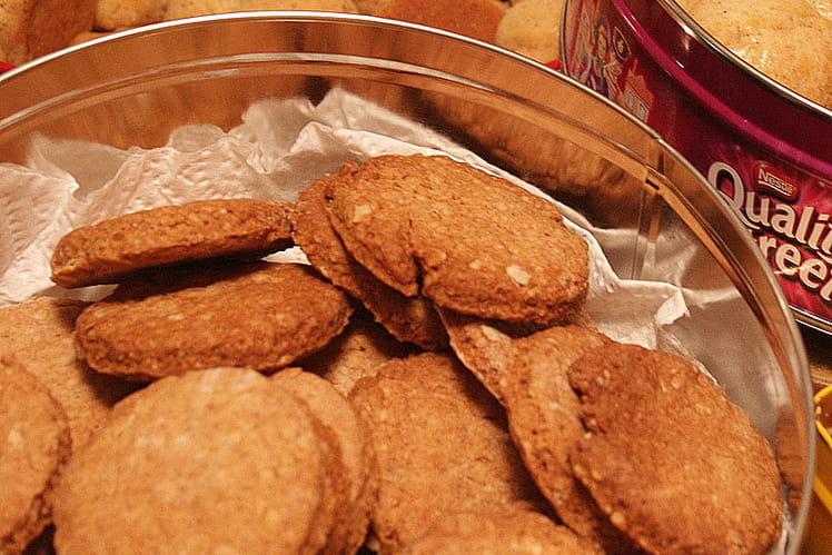 Biscuits croustillants aux flocons d'avoine