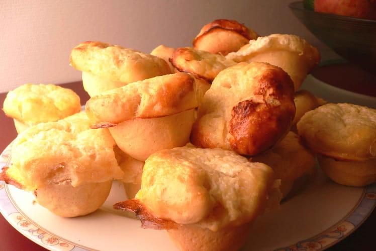 Briochettes vanillées au fromage blanc