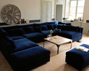 bleu nuit. Black Bedroom Furniture Sets. Home Design Ideas