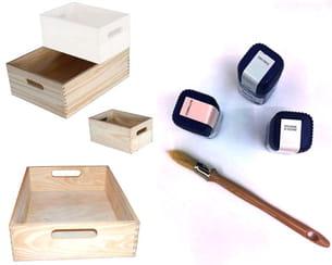 le matériel nécessaire à la fabrication des étagères