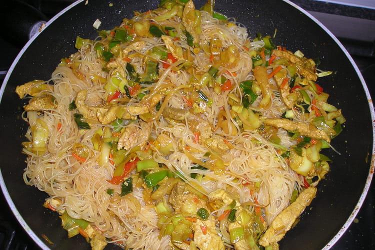 Porc doux au wok