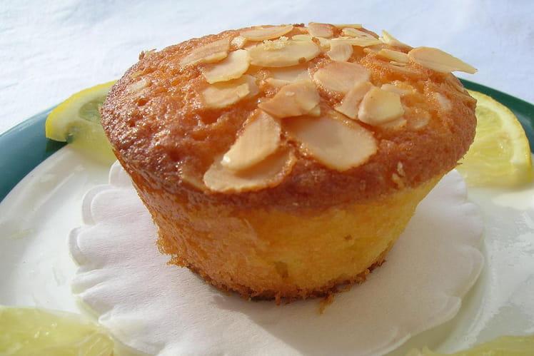 Muffins citron amandes