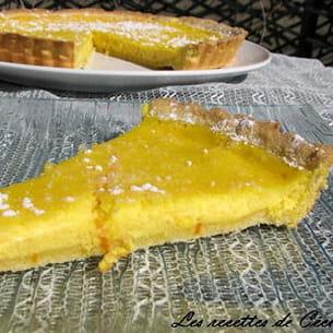 tarte à la ricotta et à l'orange