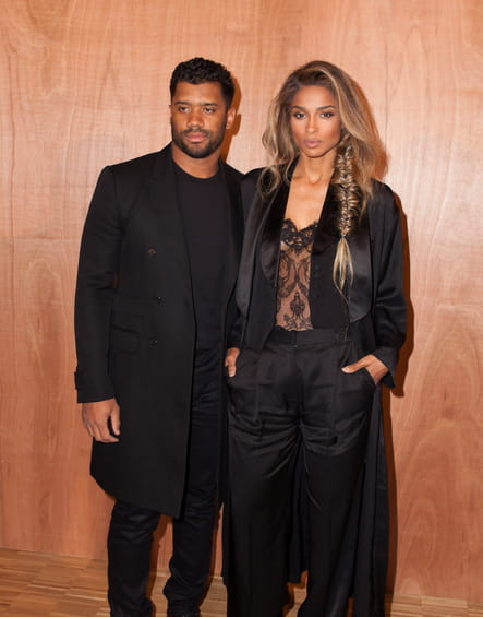 Russell Wilson et Ciara