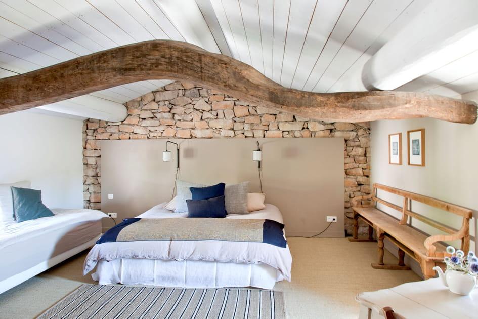 Une chambre aux beaux matériaux