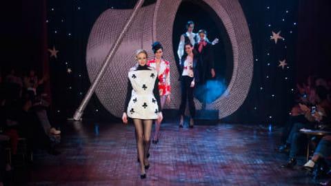 Fashion week Paris : défilé Olympia Le-Tan automne-hiver 2014-02015