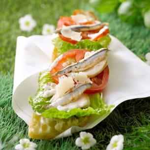 Tartine c sar salade for Mbc gilles choukroun