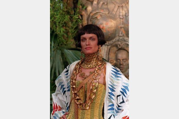 Amber Valletta le 20juillet 1998