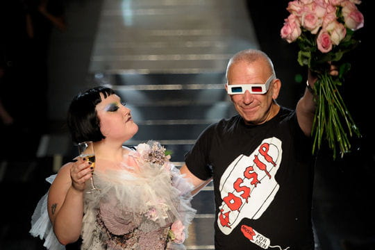Champagne monsieur Gaultier!