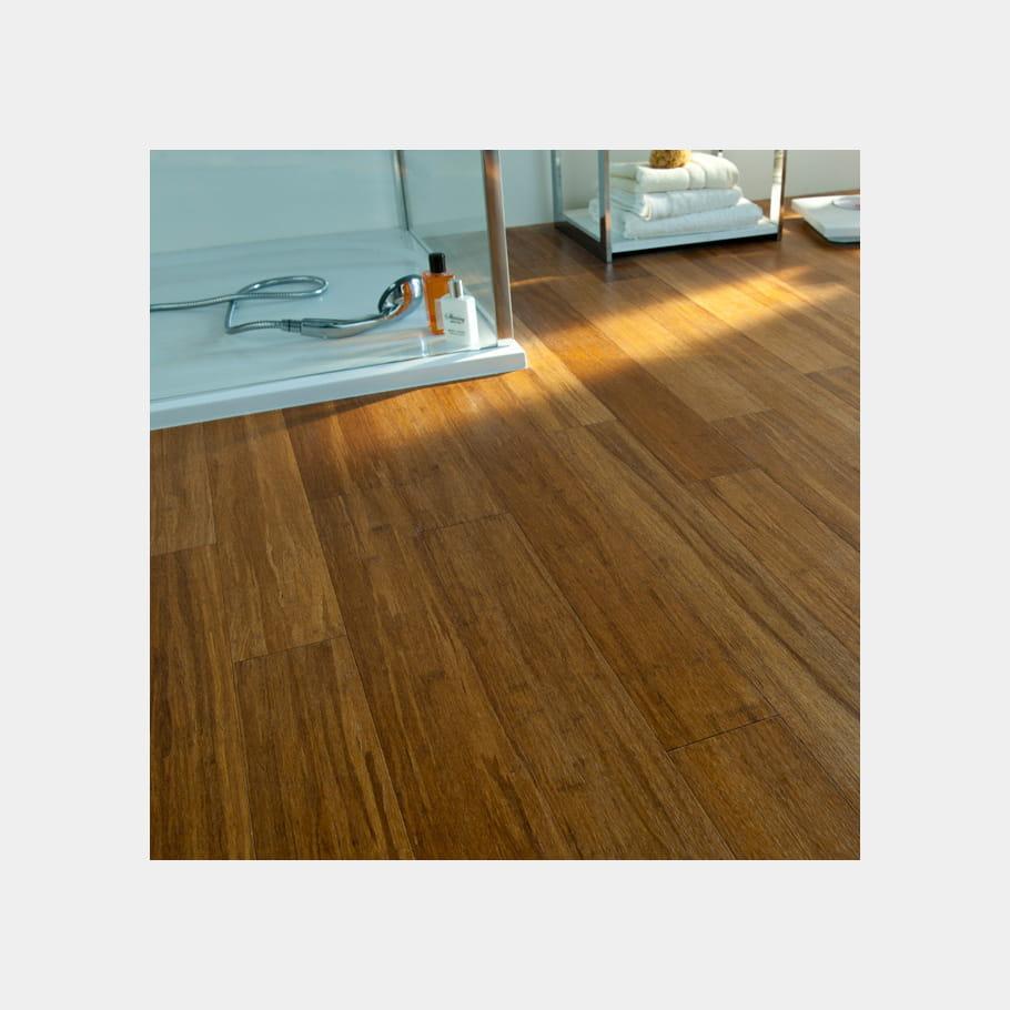 le parquet en bois exotique quel sol pour la salle de bains journal des femmes. Black Bedroom Furniture Sets. Home Design Ideas