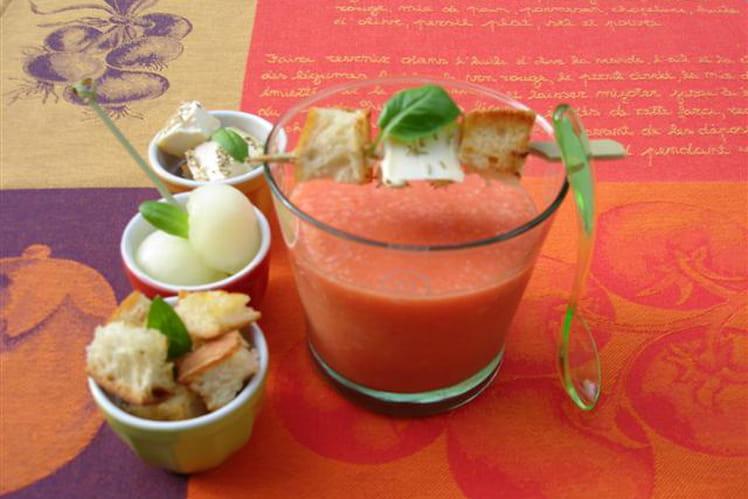 Gaspacho de tomates et compagnie